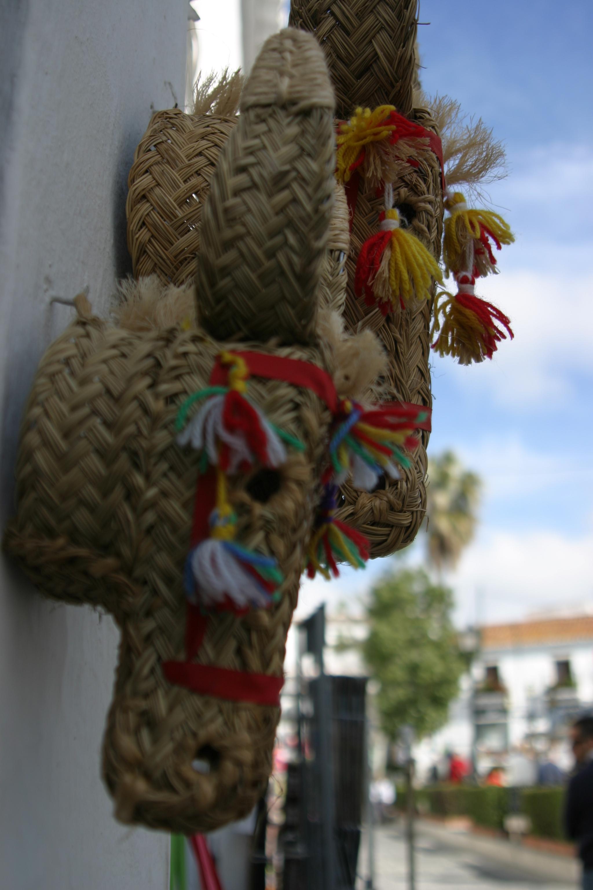 Mijas Pueblo Straw donkeys www.andrewforbes.com