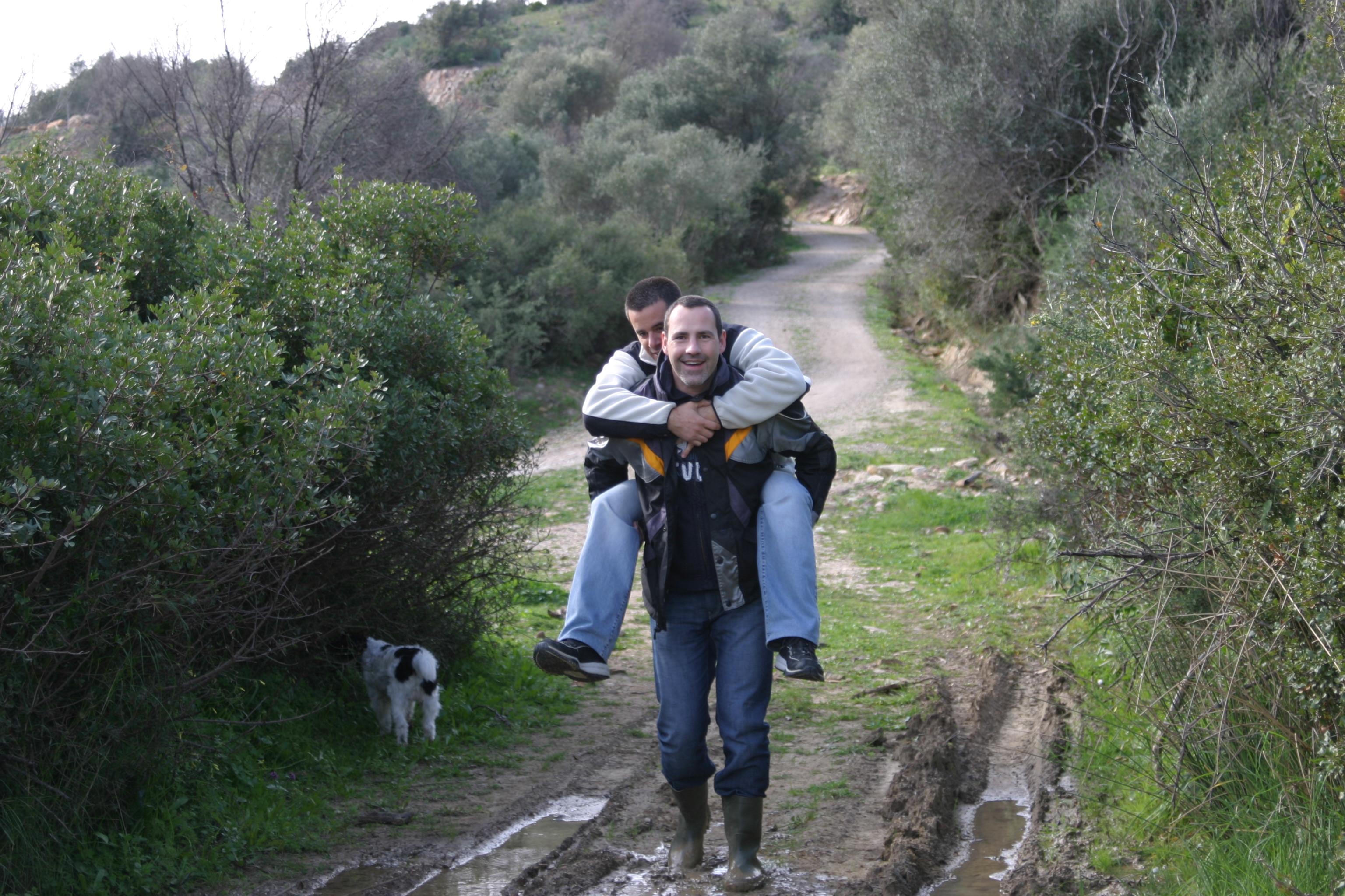 Rafa & Andrew in Casares