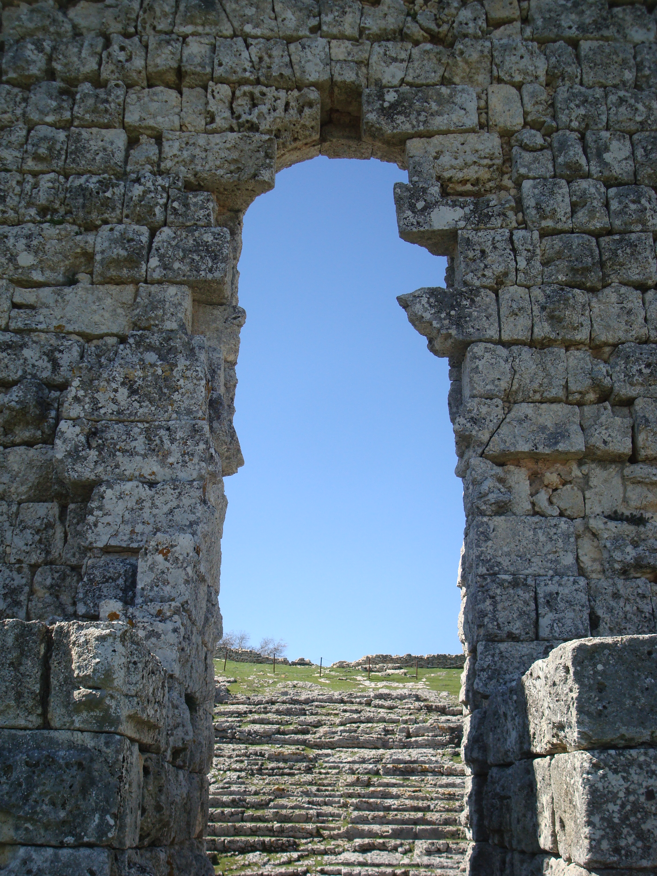 Acinipo roman amphitheatre Ronda malaga