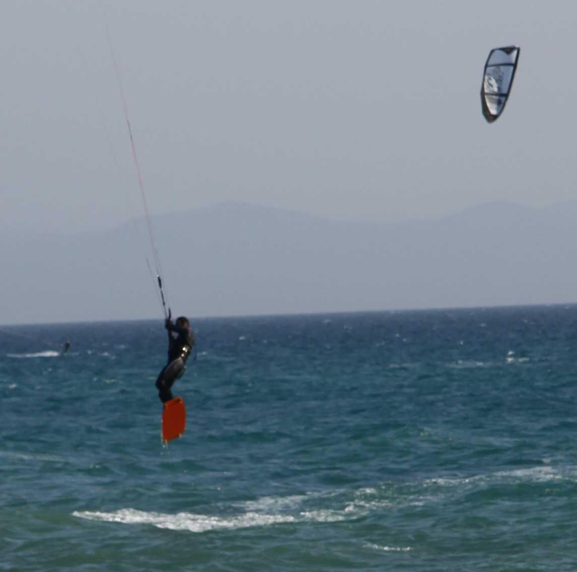 Kite Surfing, Tarifa, andalucia, www.andrewforbes.com