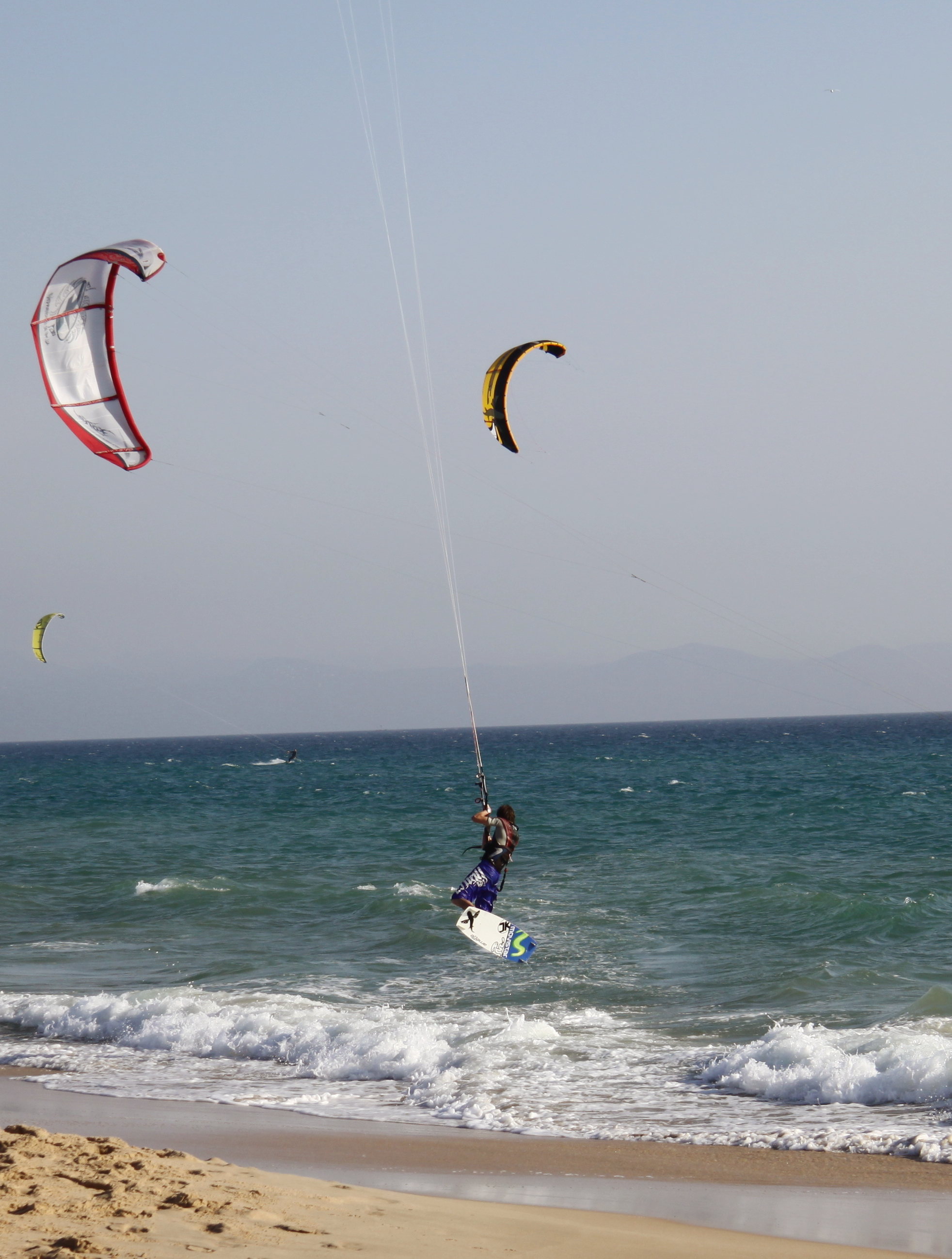 Kite Surfer, Tarifa, Andalucia www.andrewforbes.com
