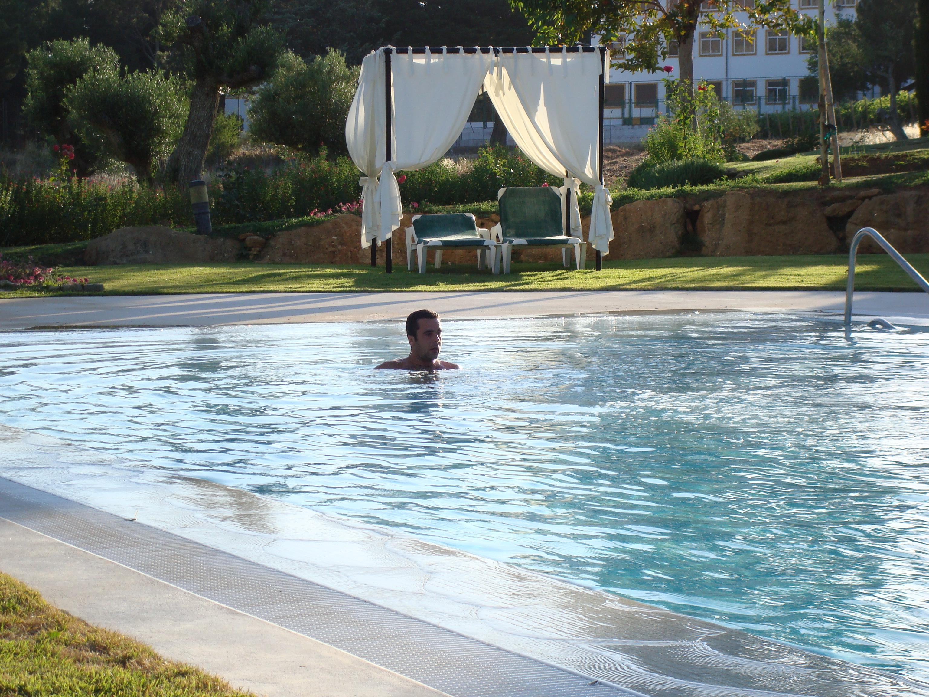 Hotel el Juncal, Ronda, rafa in pool