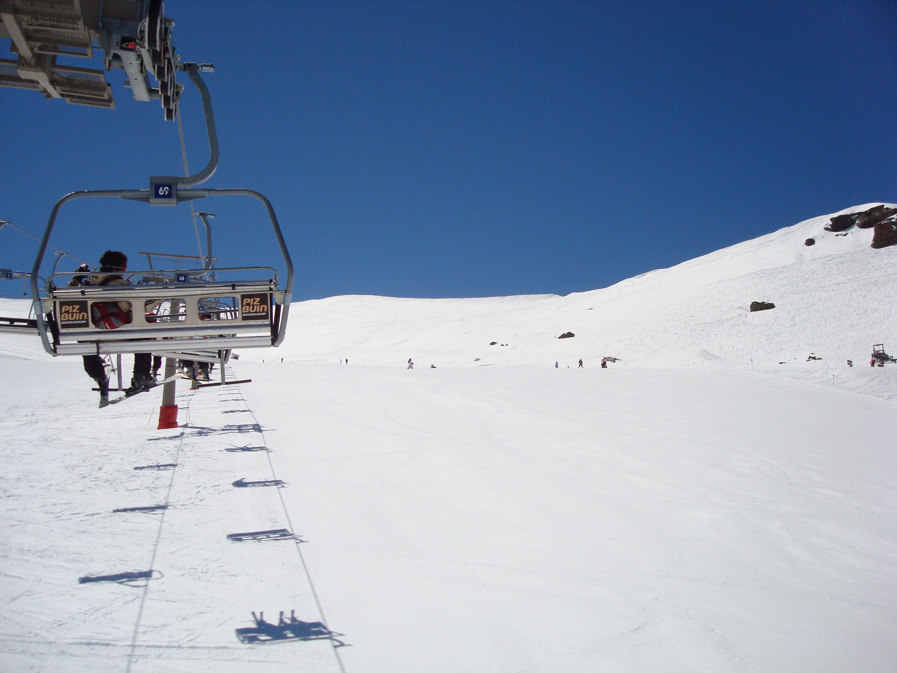 Sierra Nevada, Chairlift. andalucia
