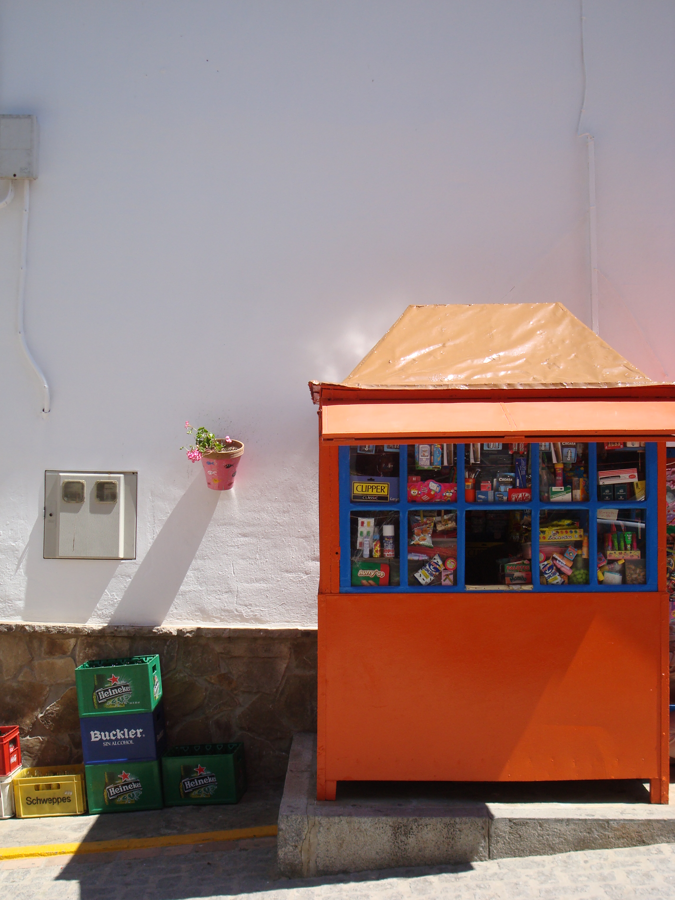 Ardales, traditional kiosk, Andalucia, www.andrewforbes.com