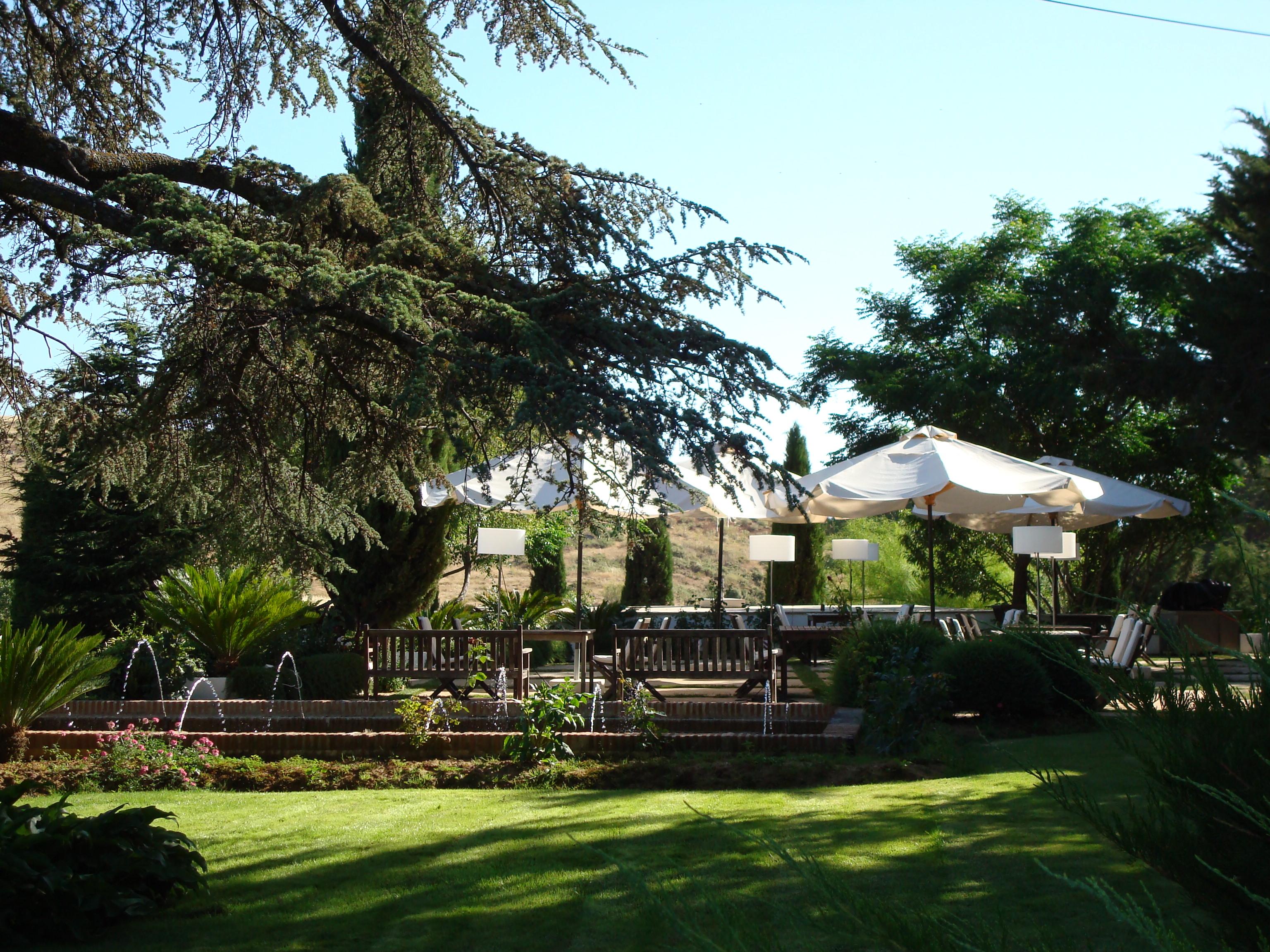 Hotel el Juncal, Ronda, Gardens.