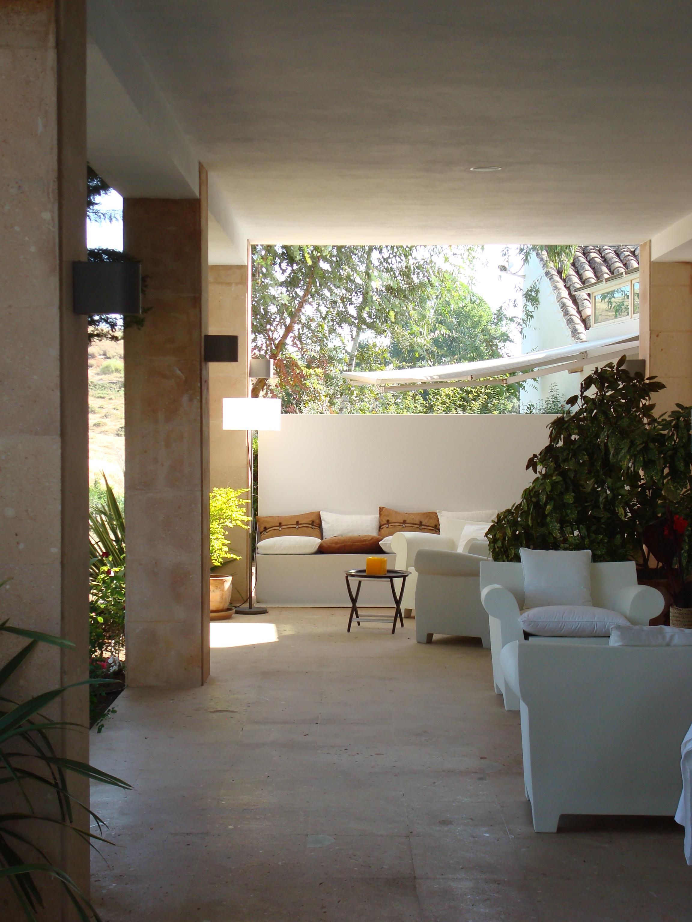 Hotel el Juncal, Ronda, terrace