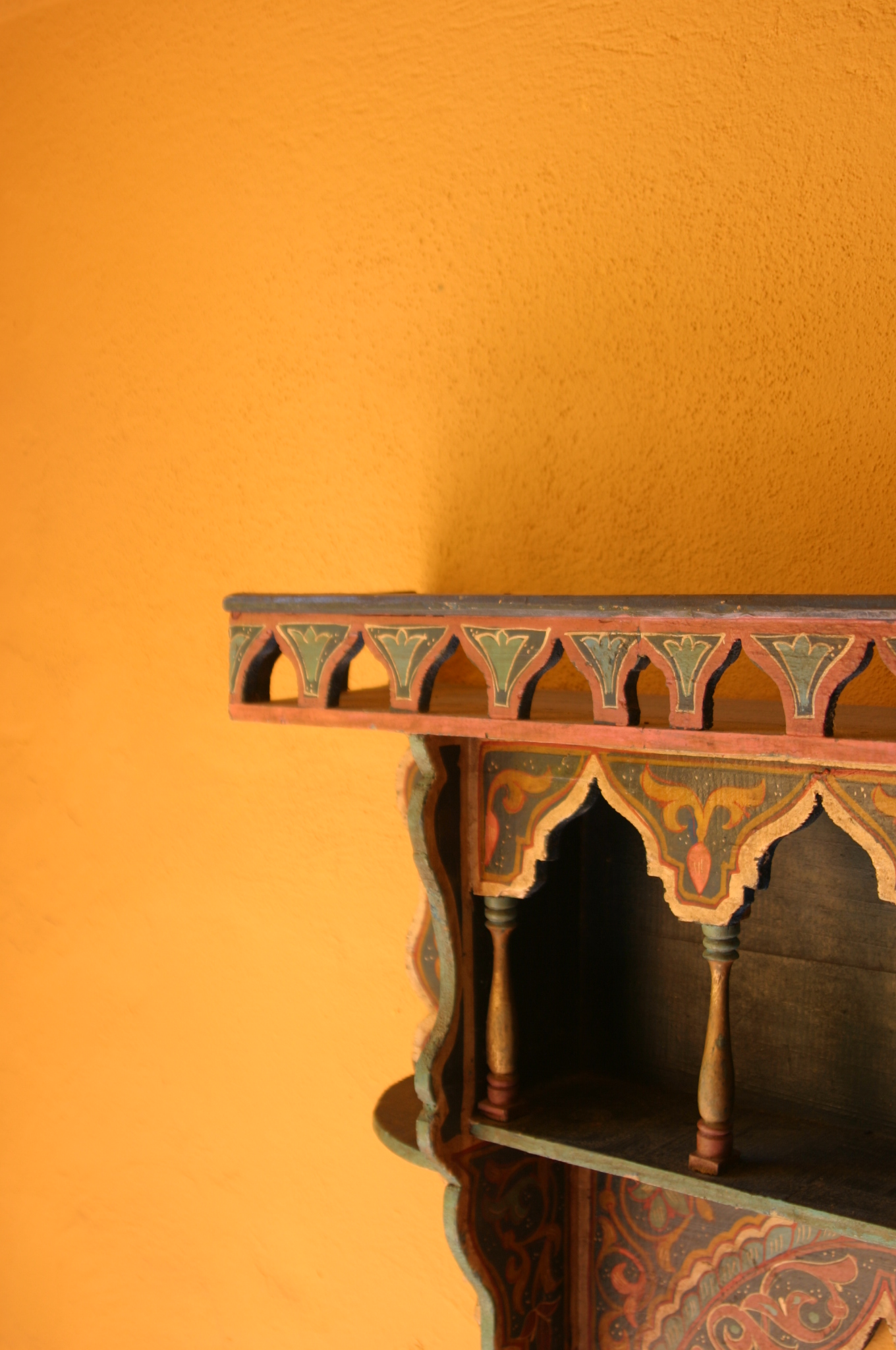 Detail in the Fez Suite, Albero Lodge, Estepona, Andalucia