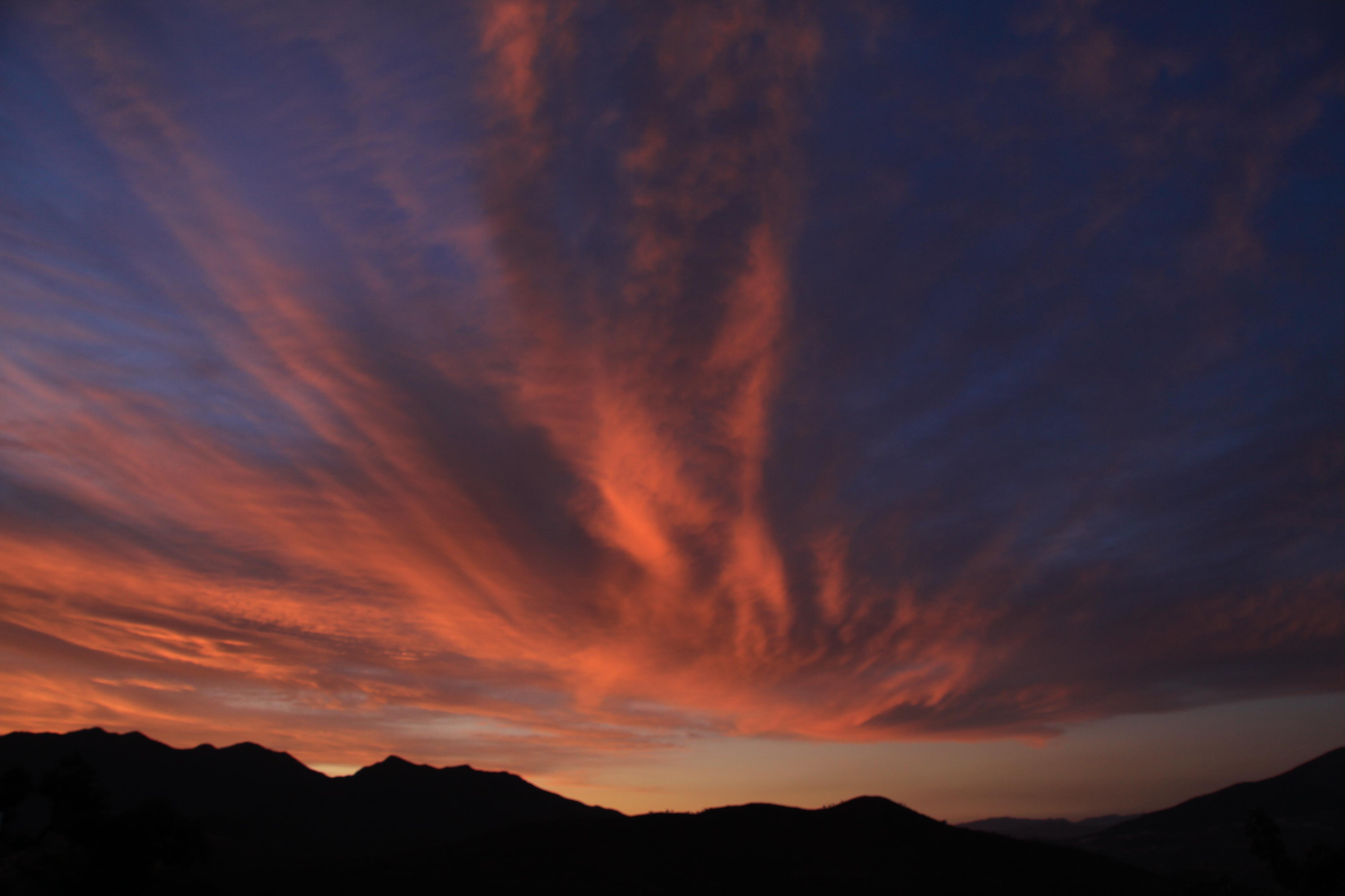 Sunset at La Mairena