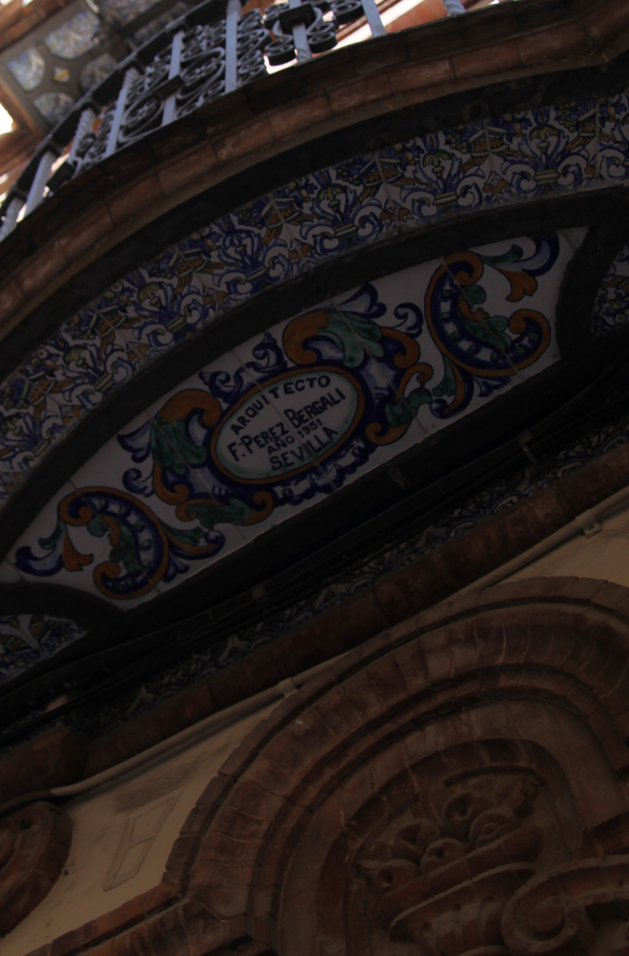 Sevilliana Balcony,seville www.andrewforbes.com