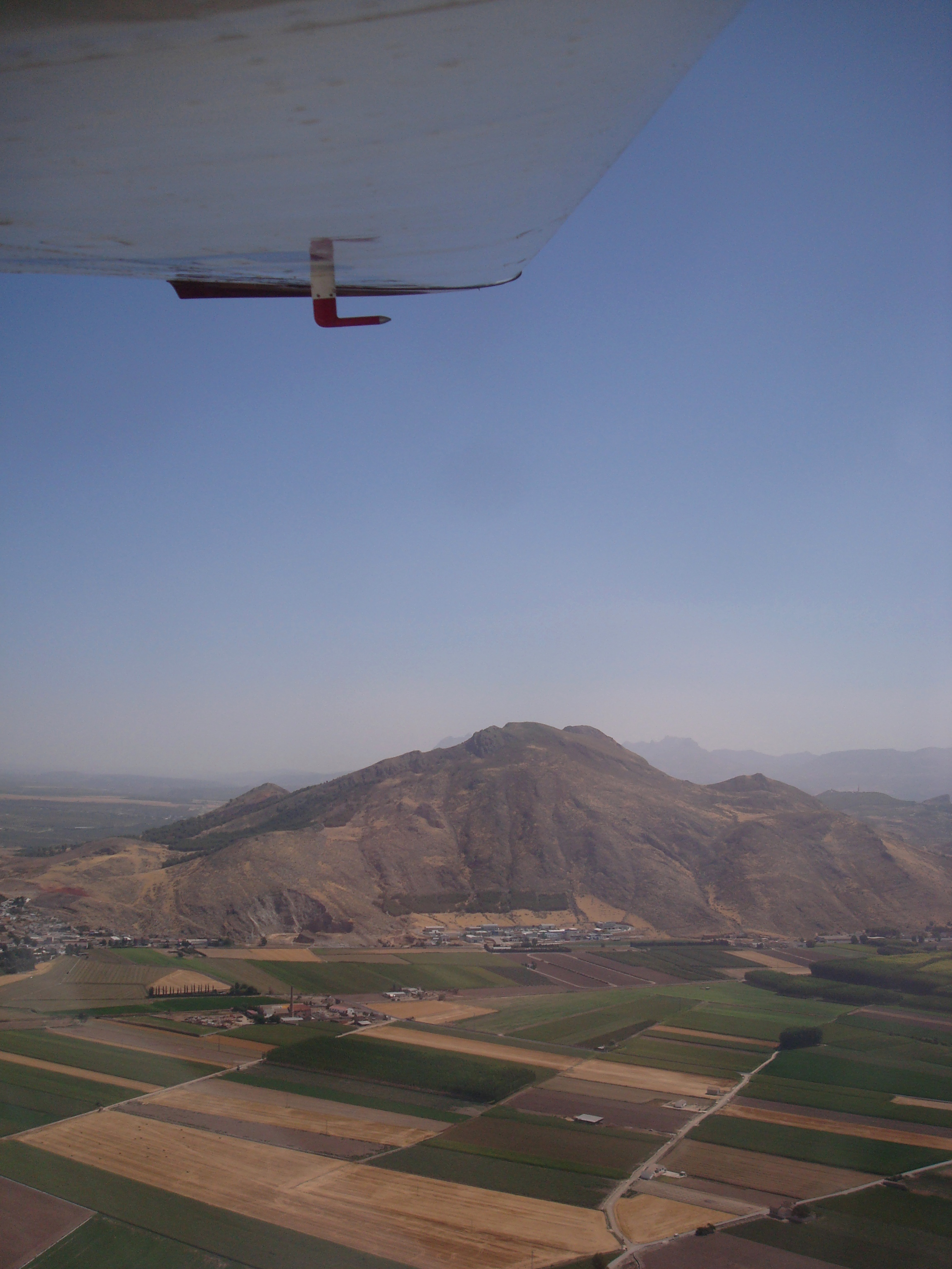 Andrew Forbes flying over Granada Countryside