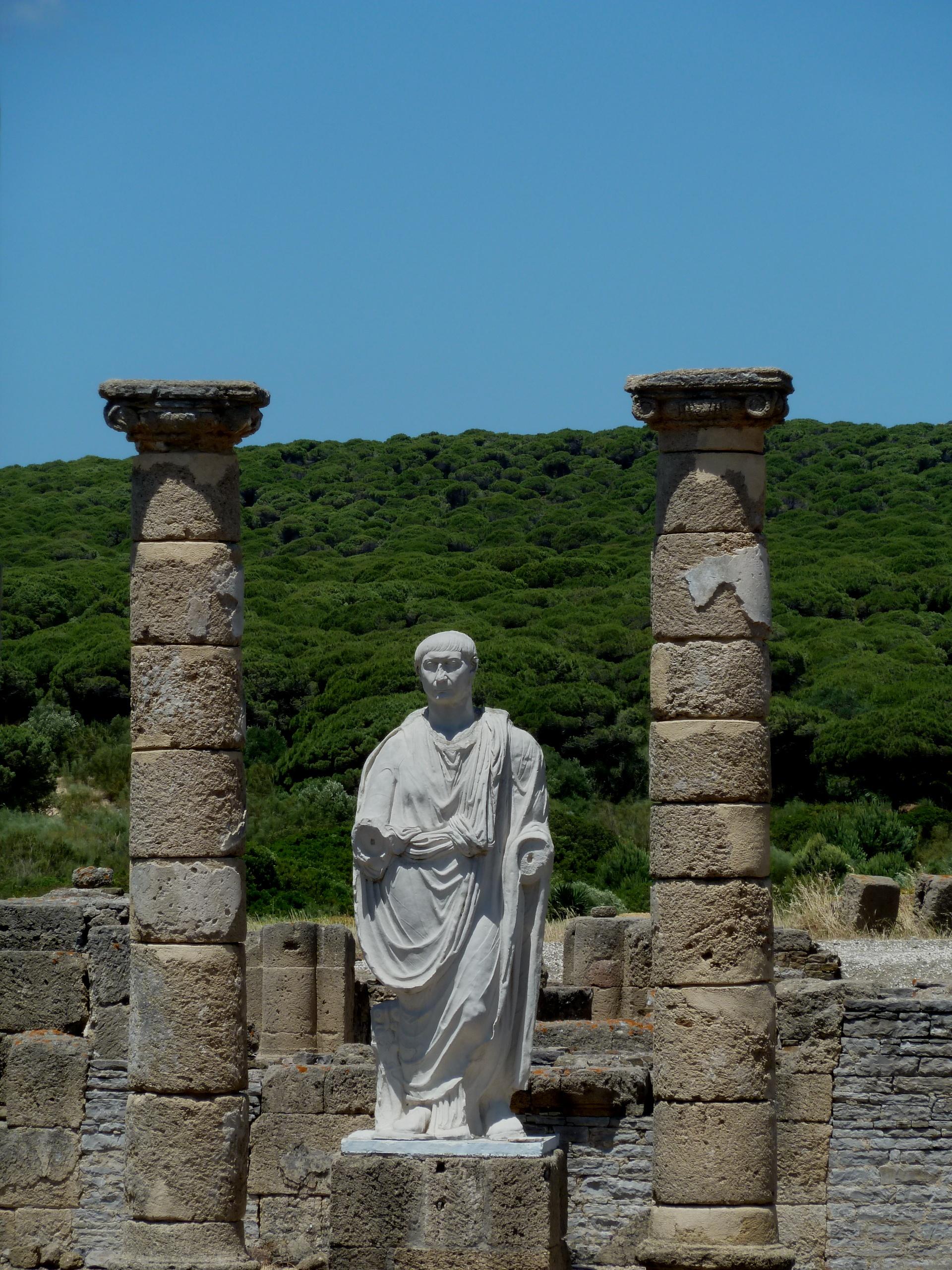 Emperor Trajano Baelo Claudio Bolonia