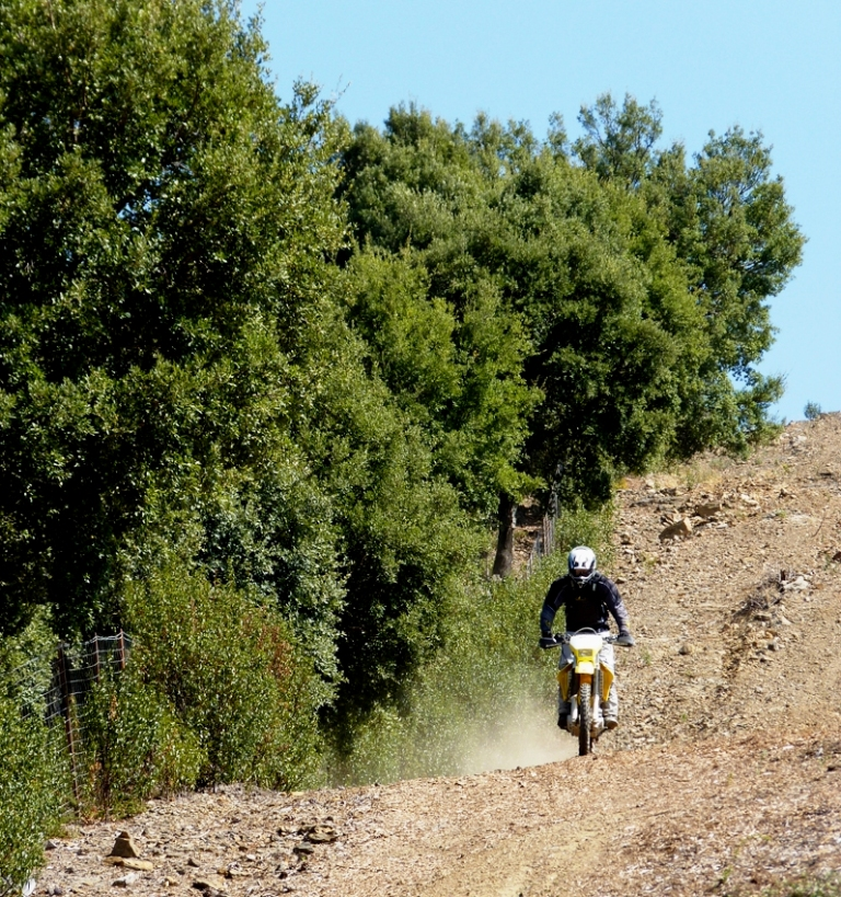 Riders of the Lost Trail dirt bike guided off road motorcyle tours open space LR