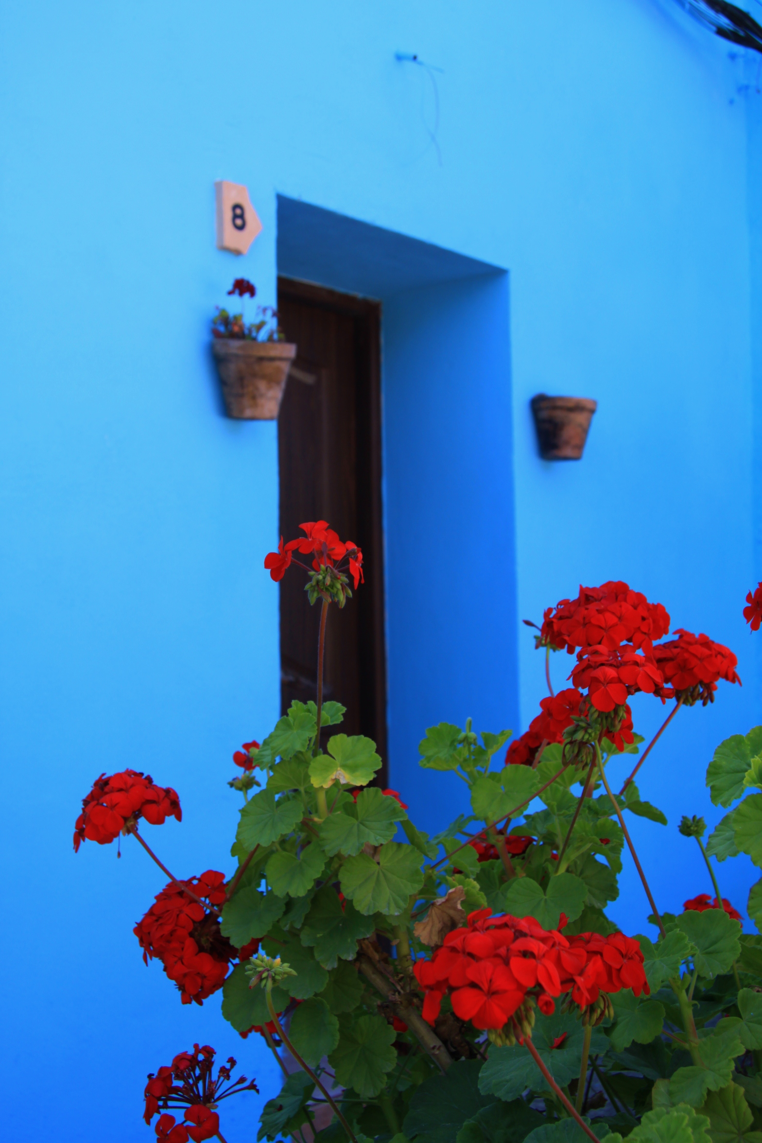 Juzcar - Smurf Village_doorway copyright www.andrewforbes.com 017