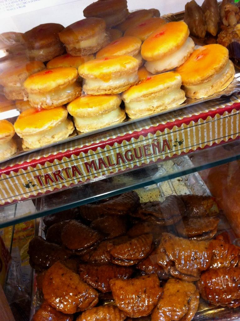 Torta Loca and borrachuelos in Tienda_la_princesa_malaga