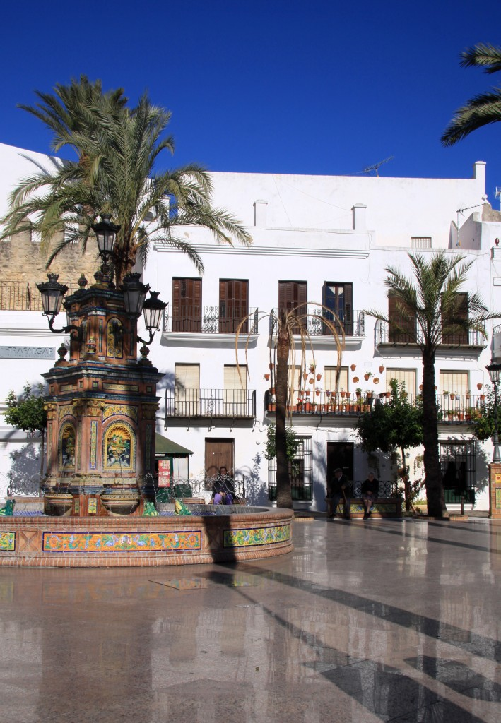 Plaza de Espana Vejer