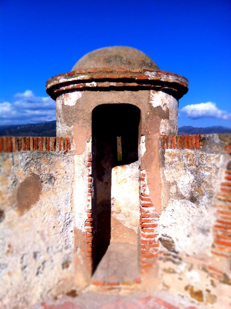 Malaga castle gibralfaro andrew forbes ramparts