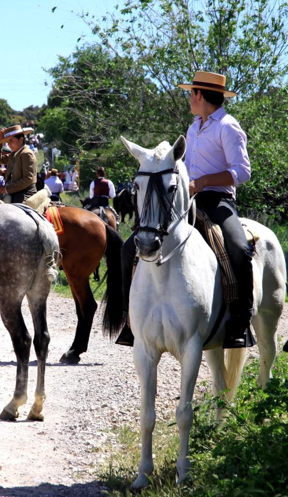 Horsemen ROMERIA DE SAN ISIDRO SENTENIL, RONDA, ANDALUCIA