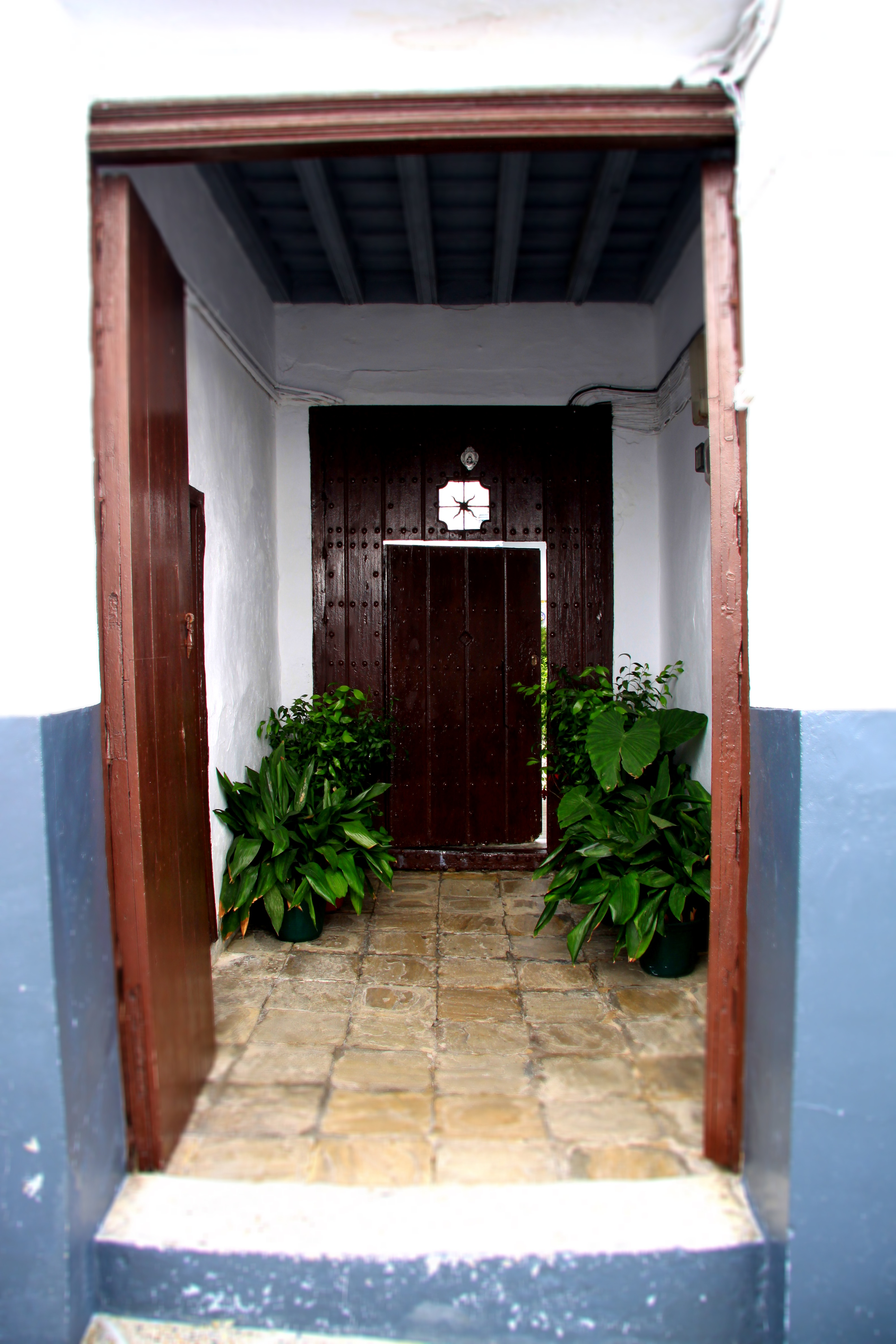 Typical doorway in Medina Sedonia