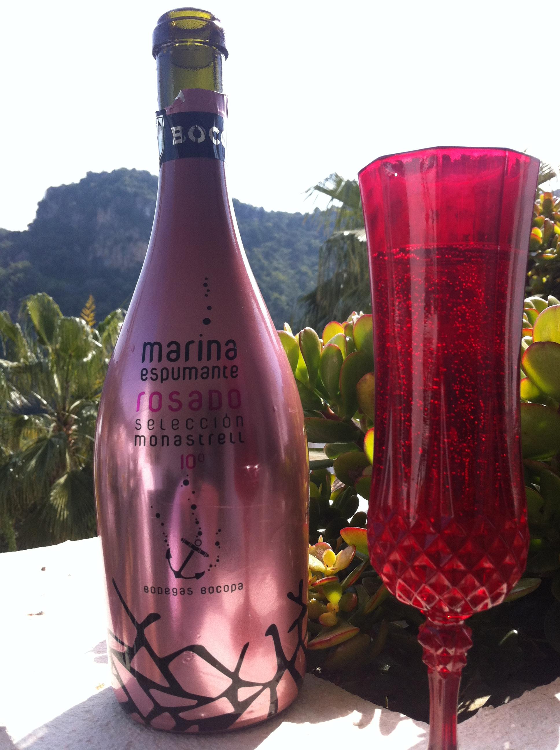 Marina espumante rosado' from the Bocopa Winery.