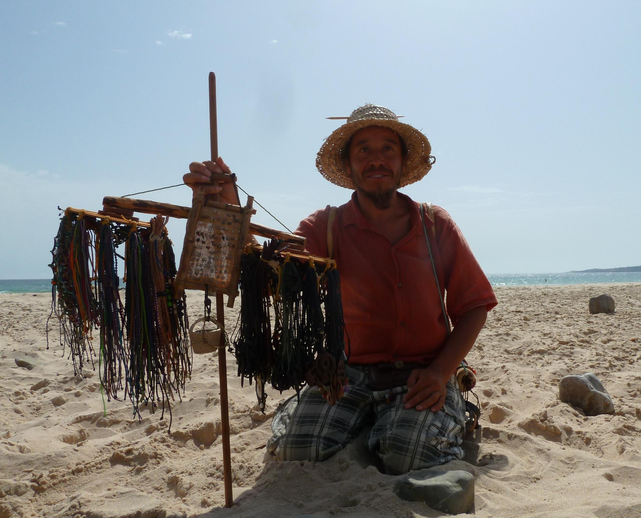 Beach Vendor Bolonia Beach, Tarifa, Cadiz, Andrew Forbes