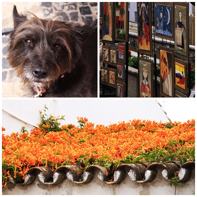 Ojen Malaga White Village Art Fair with Lucy Lou