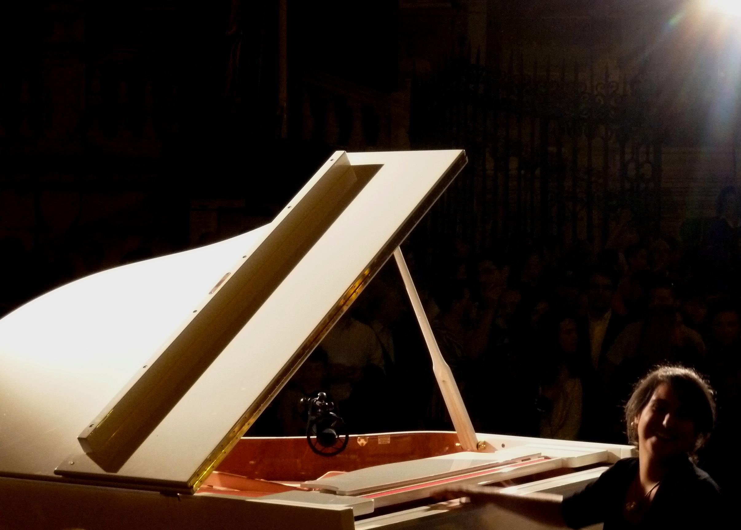 Un piano en la calle