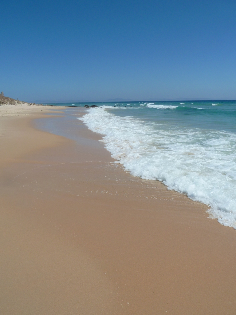 Perfect beach day, Bolonia Beach, Cadiz Andalucia