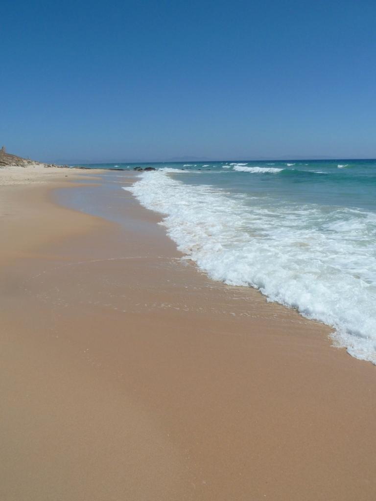 Bolonia Beach, west of Tarifa, Cadiz Province, Andalucia ...