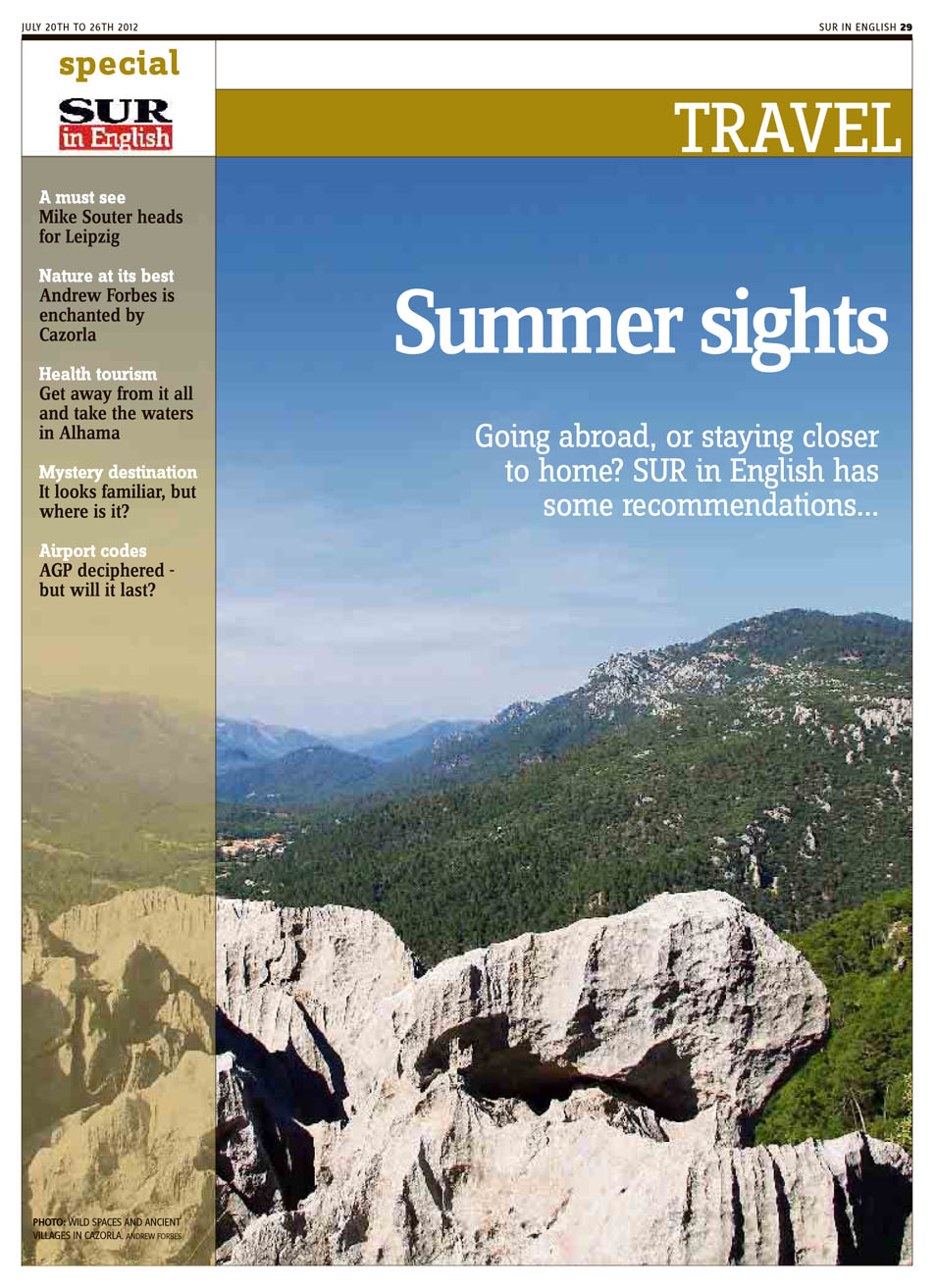 Andrew Forbes - Published Photogarphy - Cazorla natural Park