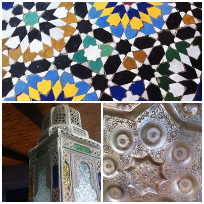 Moroccan details Temple Garden