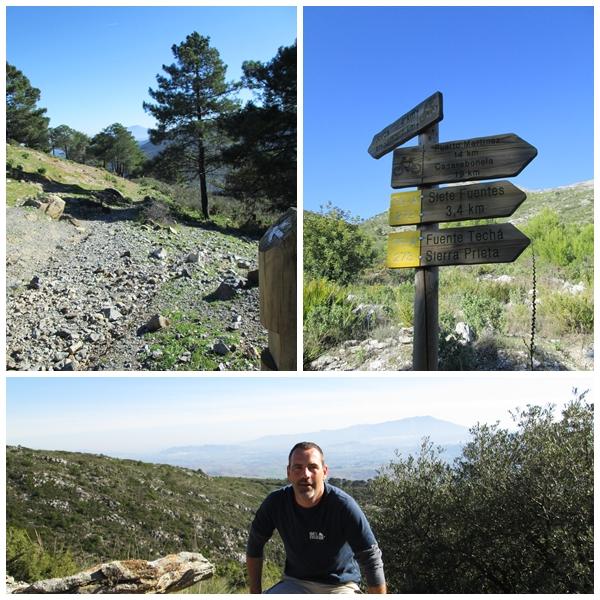 Hiking Sierra de las Nieves December 2012