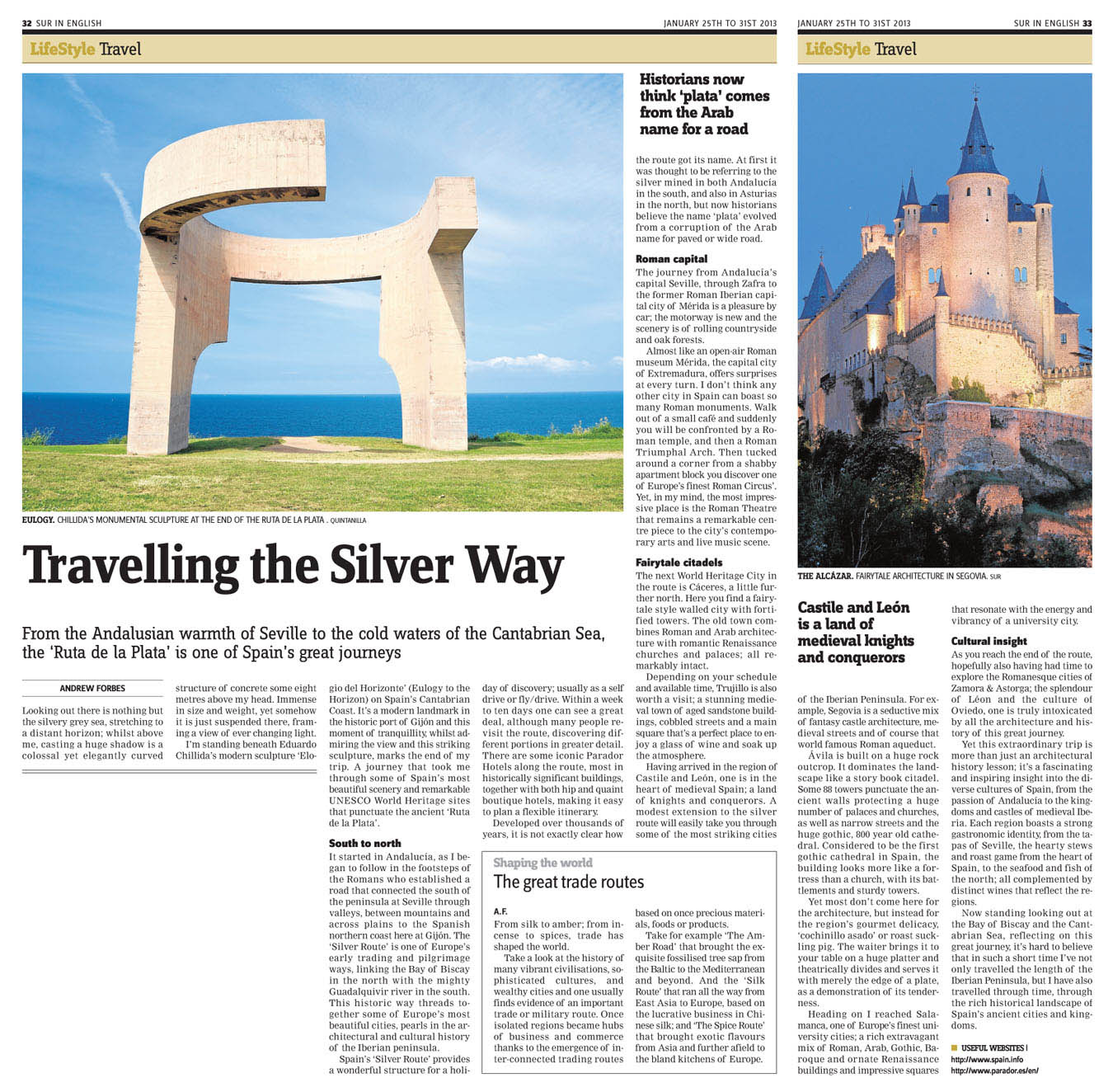 Spain's Silver Route Travel Andrew Forbes Sur_Travel_25.01.2013