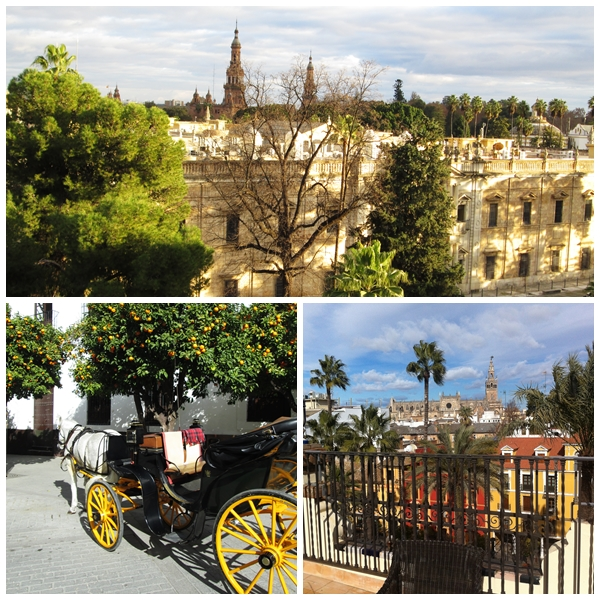 Seville in Winter