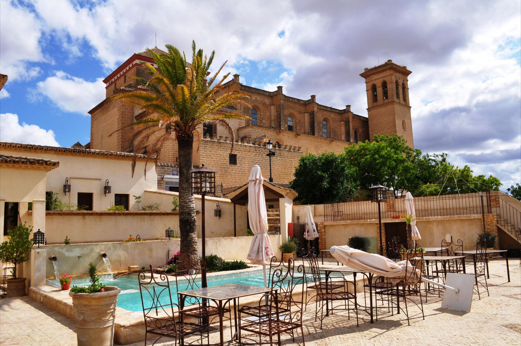 CITY OF DUKES. Osuna's old town from Hospederia del Monestario (José Luis Martín)