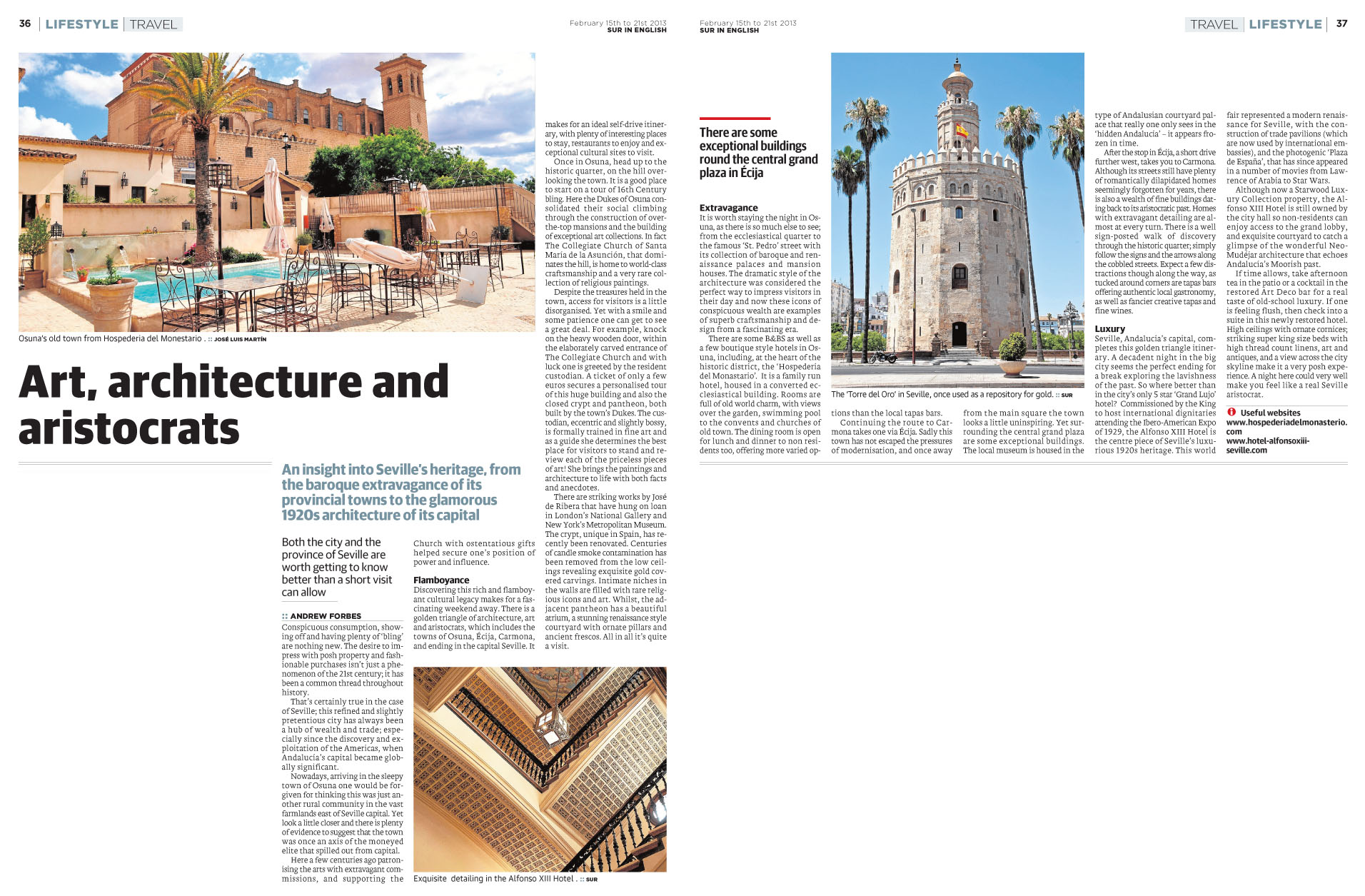 Art, Achitecture and Aristocrats A Forbes SUR_Travel_15.02.2013