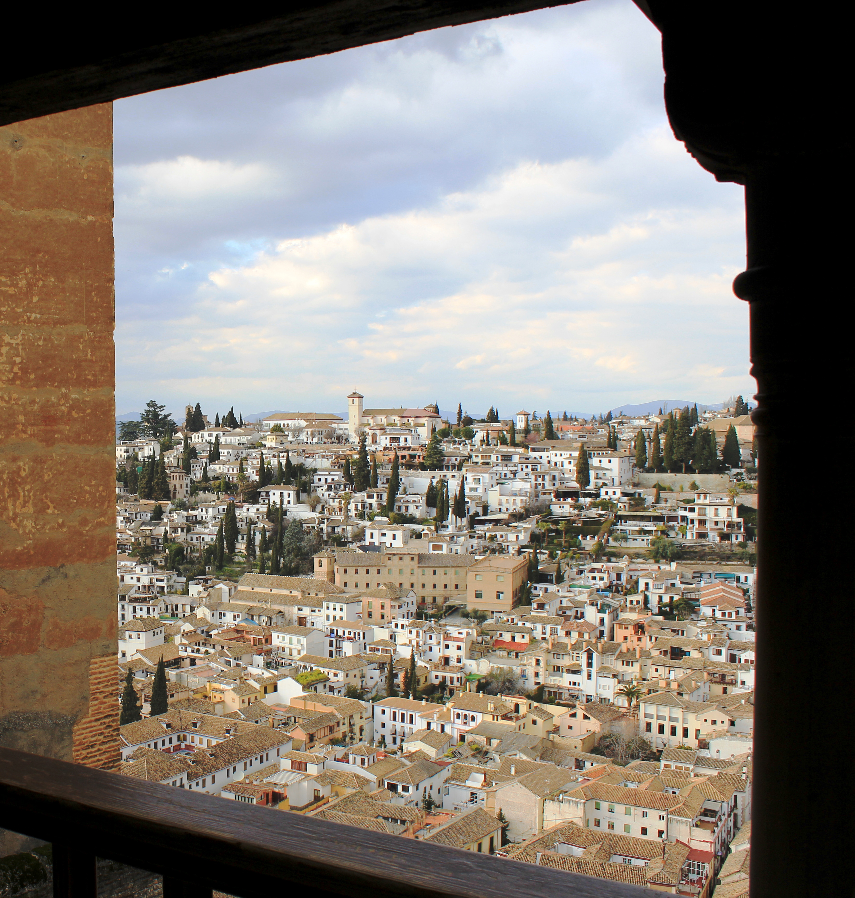 ALBAICIN. View of  Albaicin from the Alhambra (A Forbes)