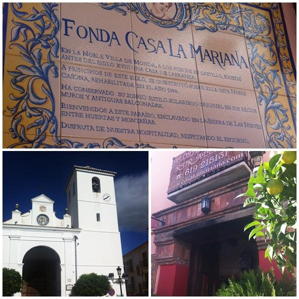 Fonda Casa La Mariana Monda, nr Guaro andrew forbes