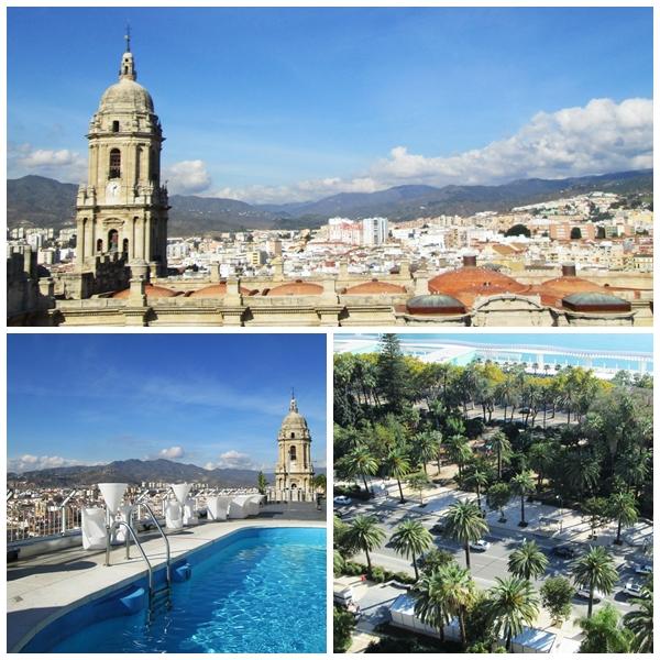 Malaga Roof Terrace Palacio AC Hotel