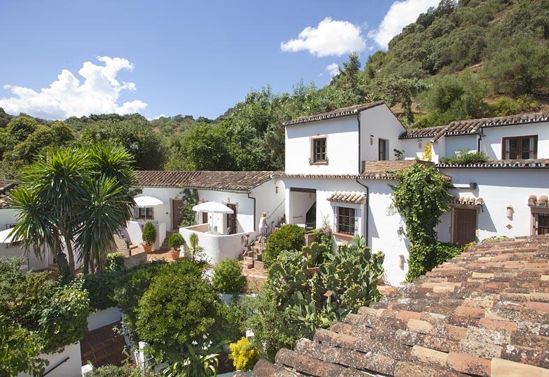 Molino del Santo, Country Hotel, Benaojan, near Ronda, Andalucia view