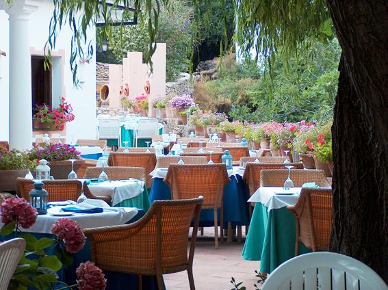 Molino del Santo, Country Hotel, Benaojan, near Ronda, Andalucia terrace