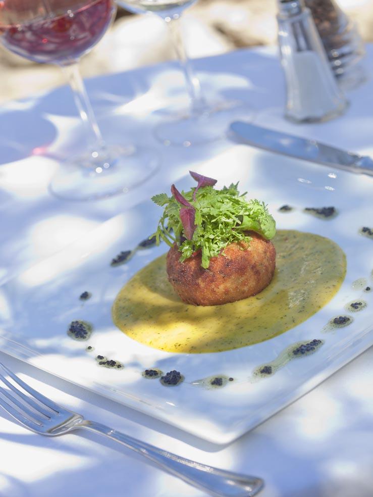 Molino del Santo, Country Hotel, Benaojan, near Ronda, Andalucia  food