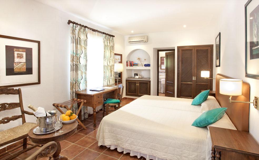 Molino del Santo, Country Hotel, Benaojan, near Ronda, Andalucia bedroom