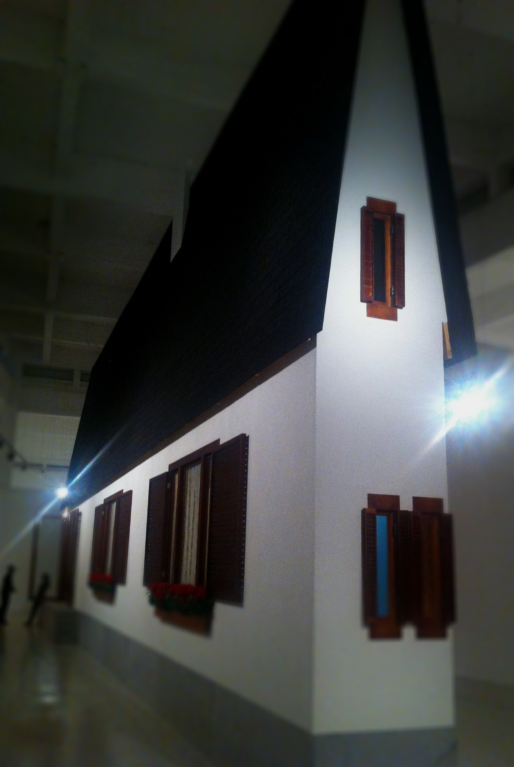Wurm's narrow house at Malaga's CAC