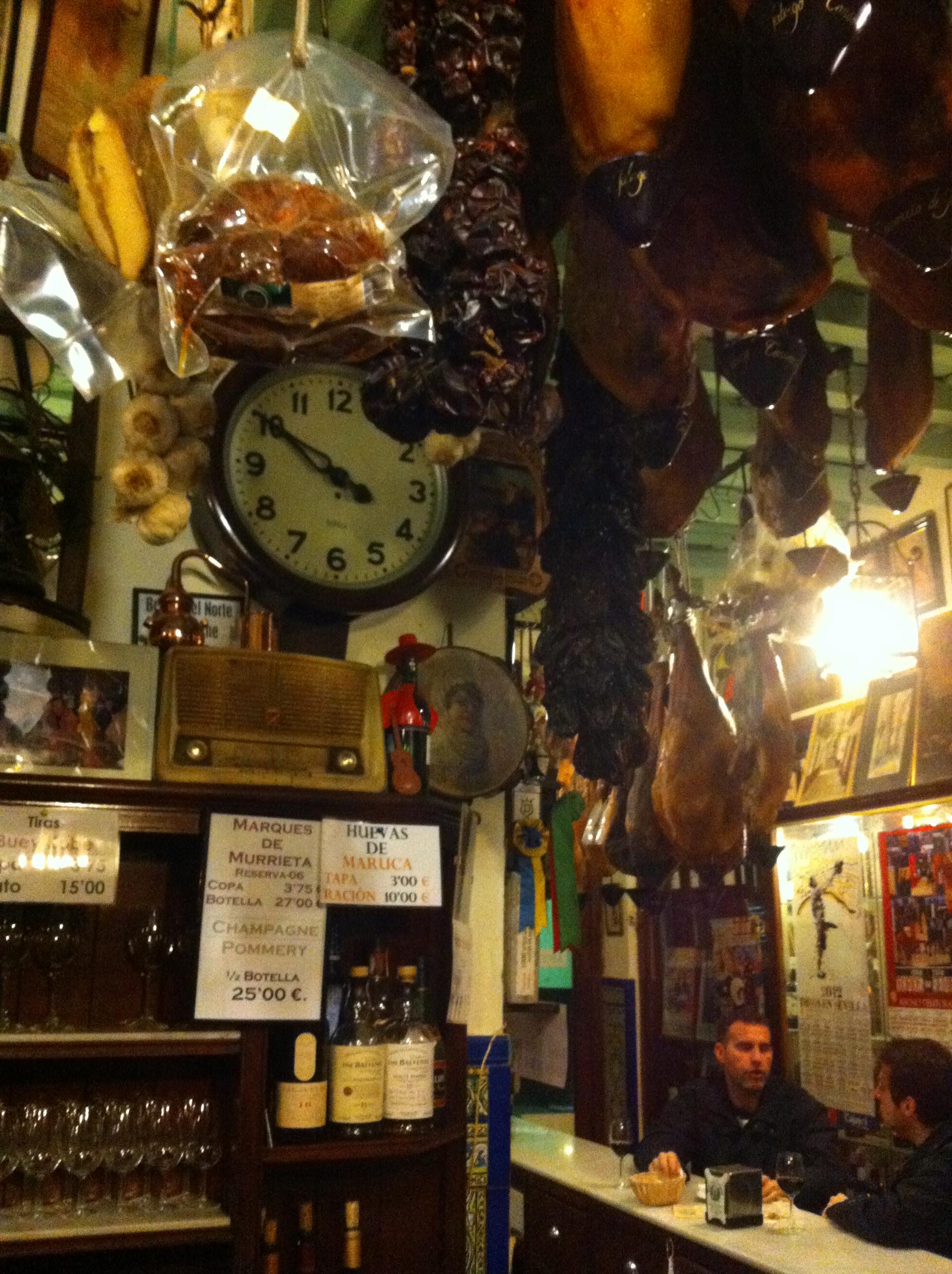 Tapas Bar Las Teresas Seville