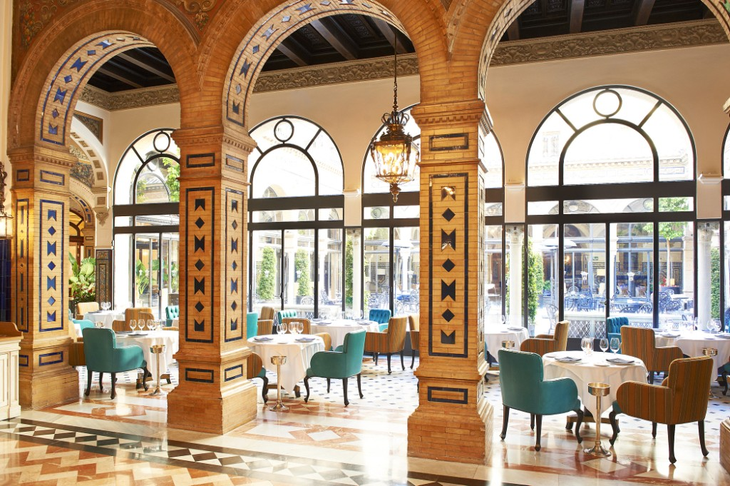HOTEL ALFONSO XIII RESTAURANTE SAN FERNANDO, SEVILLE, ANDALUCIA STARWOOD LUXURY COLLECTION