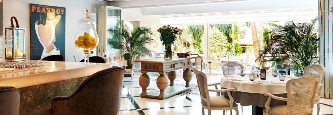 serafina - italian restaurant Plaza Village Puente Romano Beach Resort Andrew Forbes Mediterranenan