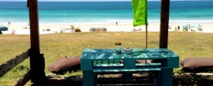 Sirocco Beach Bar Chiringuito Bolonia Andrew Forbes Andalucia Diary 2