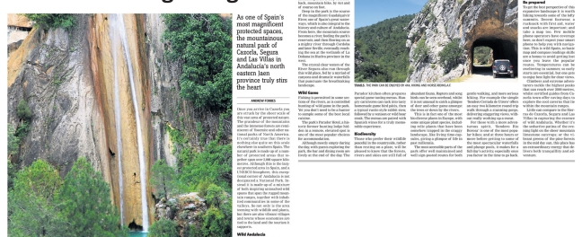 Travel Andrew Forbes Cazorla Natural Park Spain 20.07.2012